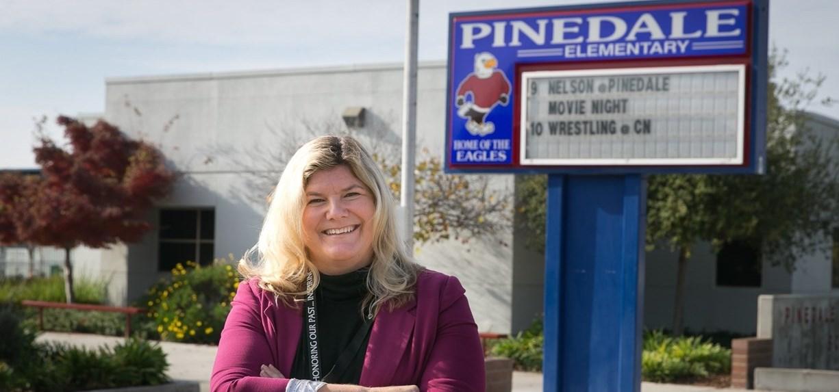 Pinedale principal Debra Bolls