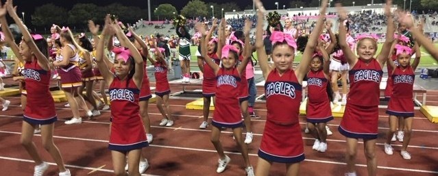 Cheer at Feeder Night