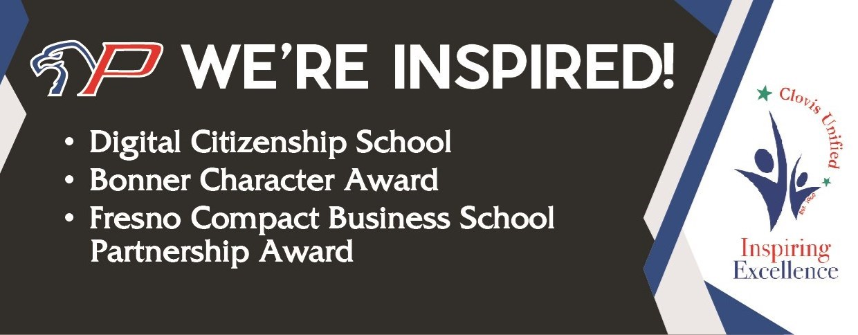 We're Inspired Awards